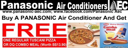 Buy A Panasonic Air Conditioner and Have a Free Meal